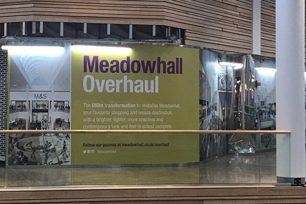 sheffield meadowhall signs
