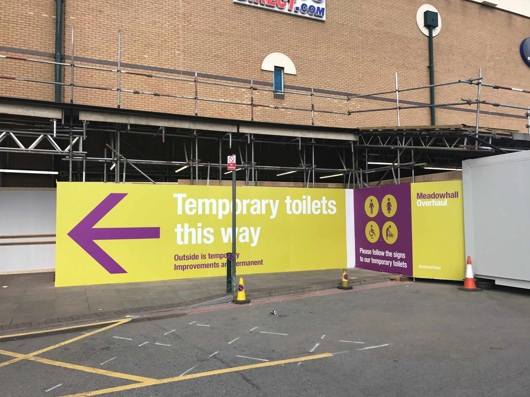 building site graphic boards Doncaster
