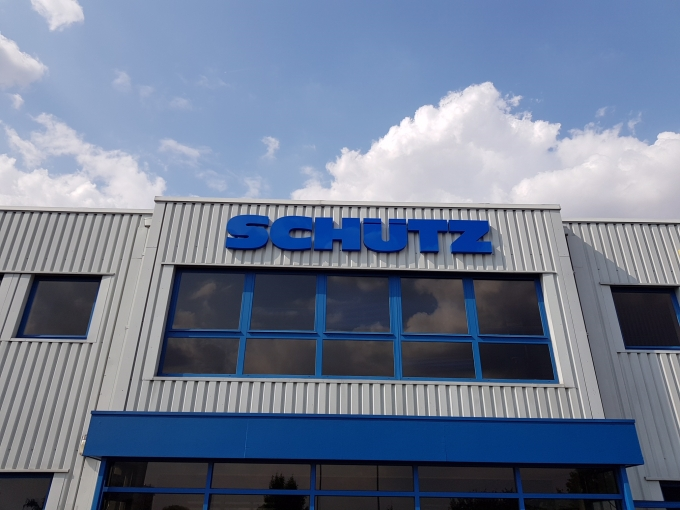 warehouse entrance led signs Sheffield