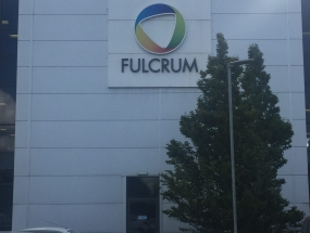 Fulcrum warehouse & Office Signage
