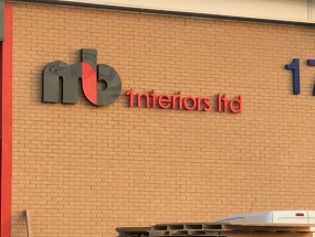 NB Interiors Sign