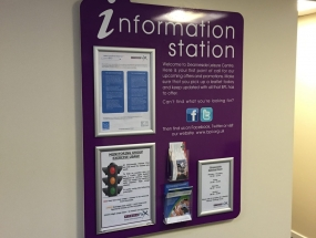 Tourist Information Centre Internal Display