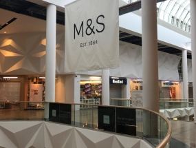 Marks & Spencer Large Format Graphic Banner