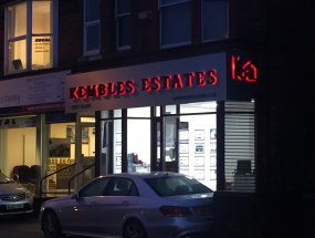 Kembles Estate Agents LED Sign