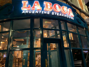 LABOCA Steakhouse External Sign