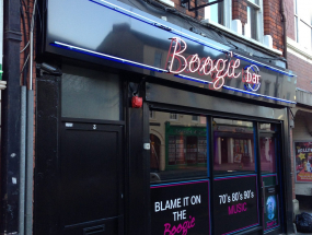 Boogie Bar External Signage