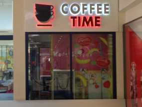 Coffee Time Signage