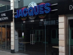 Jacques External Signage
