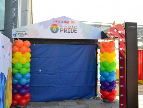 Doncaster Pride VIP Entrance Sign