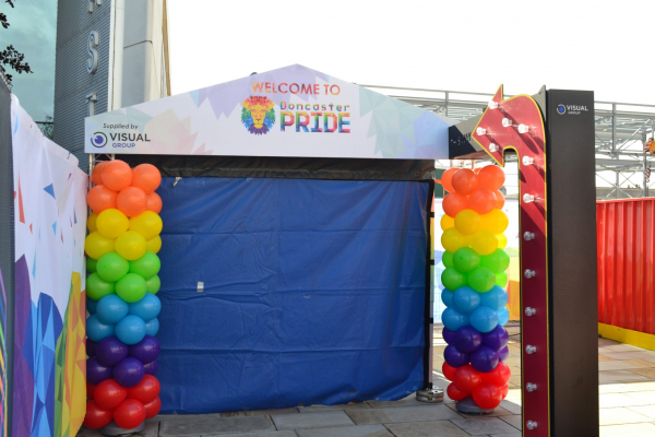 Doncaster Pride VIP Sign