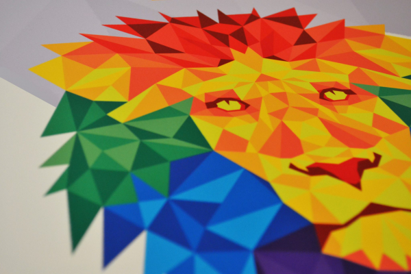 Doncaster Pride Sign