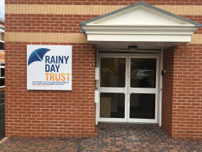 Rainy Day Trust Signage