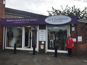 LJ's Fashion Boutique Signage